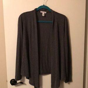 Dark gray size medium cardigan
